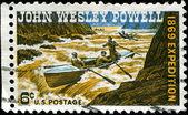 John Wesley Powell expedition — Stock Photo