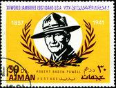 Robert Baden Powell — Stock Photo