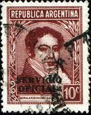 First Argentinian president Bernardino Rivadavia — Stock fotografie