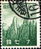Rocks of the Mount Kumgang — Stock Photo