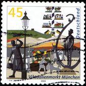 Market Stalls, Munich — Zdjęcie stockowe