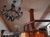 Lugansk Brewerův příznivci sešli v soukromý pivovar — Stock fotografie