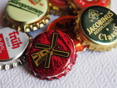 Lugansk breweriana Fans of gathered in a private brewery — Stock Photo