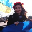 Постер, плакат: Anty war rally in Lugansk
