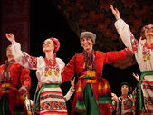 Ukrainian National Folk Dance Ensemble Named After P.Virsky — Stock Photo