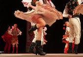 Ucraniano conjunto de dança folclórica nacional em homenagem a p.virsky — Fotografia Stock