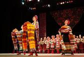 P.virsky 的名字命名的乌克兰民族民间舞蹈集成 — 图库照片