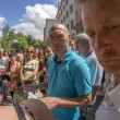 Постер, плакат: Parents of students picket Luhansk University MIA