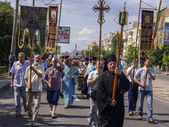 Orthodox Religious procession — Stock Photo