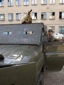 Crisis in Ukraine, Luhansk — Stock Photo
