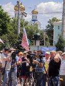 """""""novorossiya"""" toplantısı — Stok fotoğraf"""