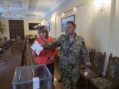 Luhansk referendum vote — Stockfoto