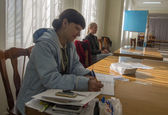 Lugansk started referendum — Stock Photo