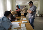 Lugansk started referendum — Stockfoto