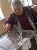Lugansk started referendum on self-determination in the region — Stock Photo