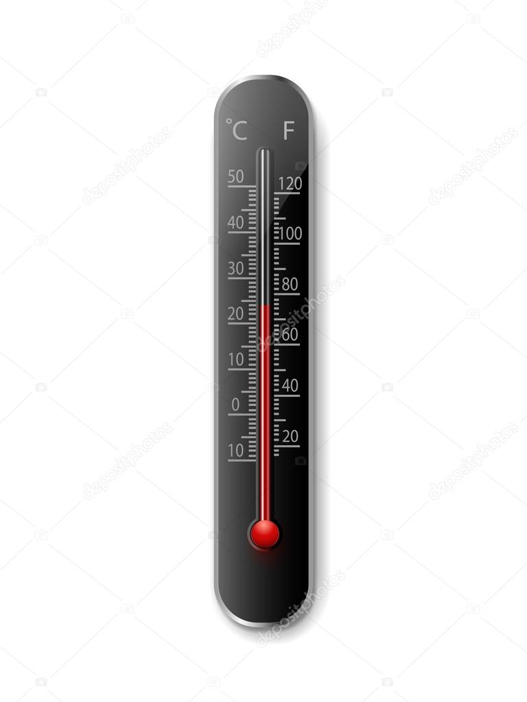 Thermometer, eps10 — Stock Vector #12702969