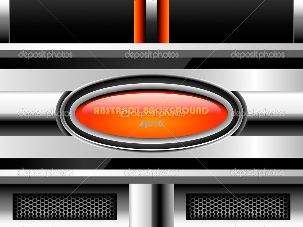 Abstract metal background, eps10  Stock vektor #12819694