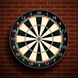 Stock vektor: Dart board