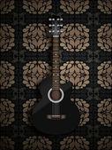 Acoustic classic guitar — Stock Photo