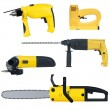 Power tools set — Stok Vektör