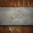 Old rusted metal. grunge texture background — Stock Photo