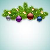 Vector fondo de navidad — Vector de stock