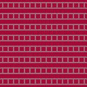 編み物のファブリック — ストックベクタ