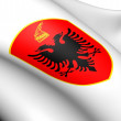 Stock Photo: Albania Coat of Arms