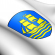Grimstad Coat of Arms, Norway. — Stock Photo