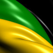 African National Congress Flag — Stock Photo
