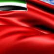 United Arab Emirates Civil Ensign — Stock Photo #12695171