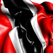 Stock Photo: Flag of Trinidad and Tobago