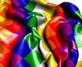 Qulla Suyu Flag — Stock Photo