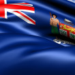 Flag of Fiji (1924-1970) - Stock Photo
