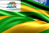 Flag of Aracaju, Brazil. — Stock fotografie
