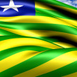 Flag of Piaui, Brazil. — Stock Photo #13752105