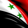 Flag of Syria - Stock Photo