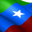 Stock Photo: Ogaden National Liberation Front Flag