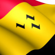 Flag of Purmerend, Netherlands. — Stock Photo