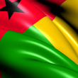 Flag of Guinea-Bissau — Stock Photo #15800707