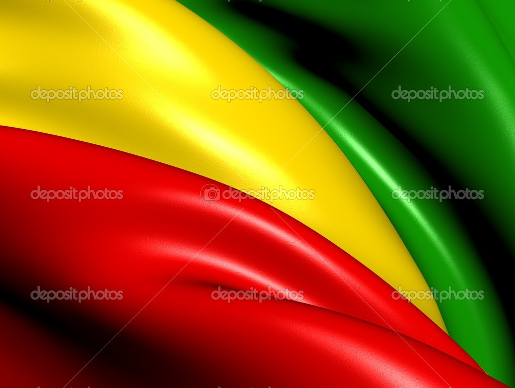 Flag of Derg. Close Up.    — Stock Photo #15800651