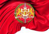 Bandeira da província de valladolid, espanha. — Foto Stock