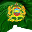 Morocco Royal Standard — Stockfoto #28949613