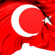 Stock Photo: Flag of Turkey