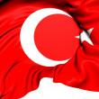 Flag of Turkey — Stock Photo
