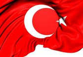 Flag of Turkey — Foto Stock