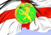 Bandera de alderney — Foto de Stock