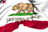 Flag of California, USA. — Foto Stock