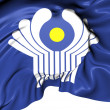 Stock Photo: Commonwealth of Independent States Flag