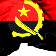Stock Photo: Flag of Angola